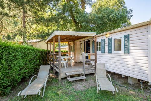 camping les eaux chaudes cottage 3 chambres